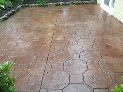 Re Sealing Existing Stamped Concrete Cole Concrete