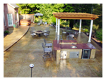 Custom Stamped Concrete Patios