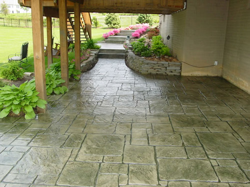 Stamped concrete patios cole concrete maryland for Deco terras design